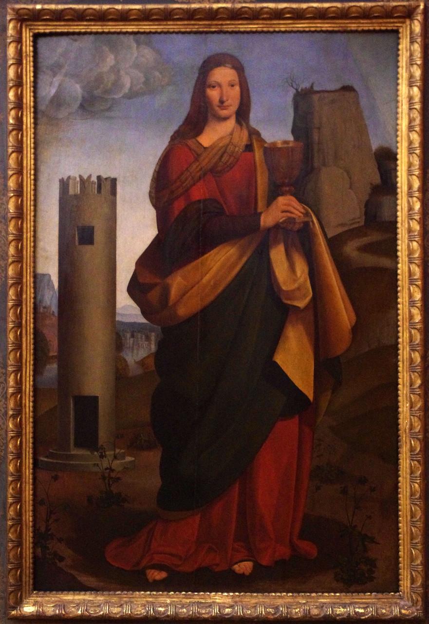 Святая Варвара. Джованни Антонио Больтраффио. 1502 год