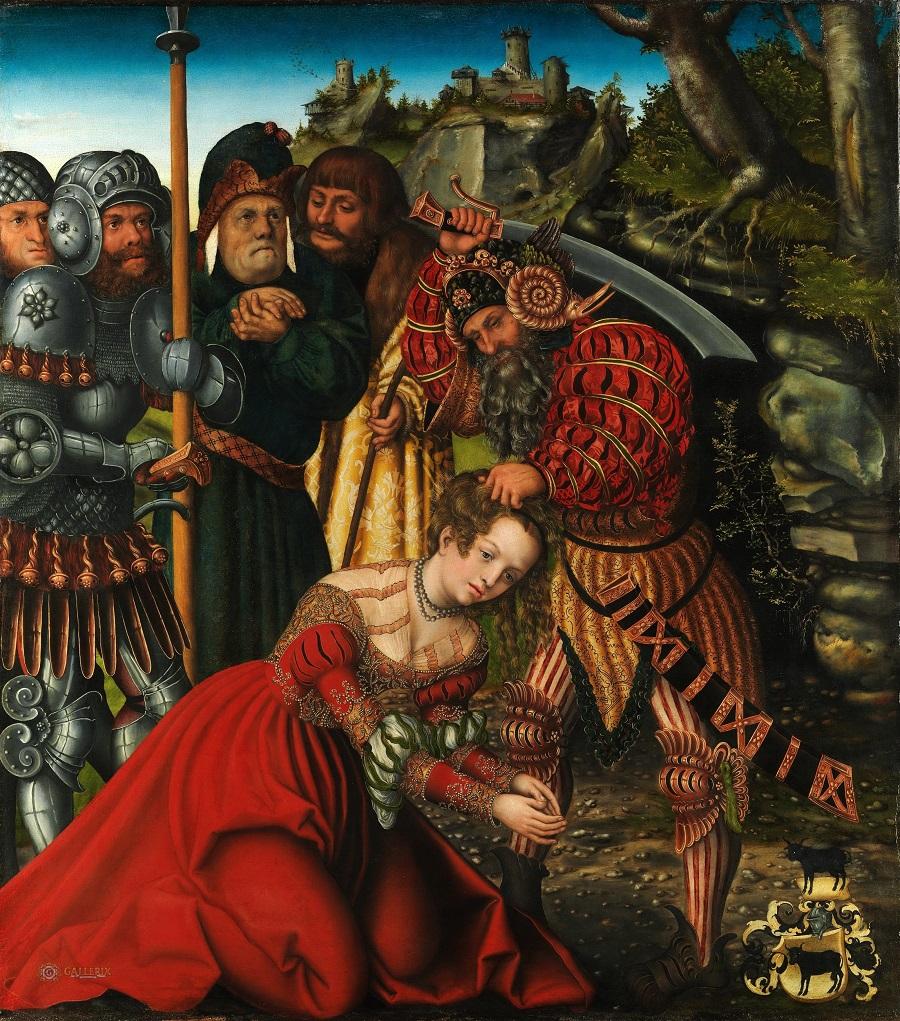 Мученичество святой Варвары. Лукас Кранах Старший. Ок. 1510 года
