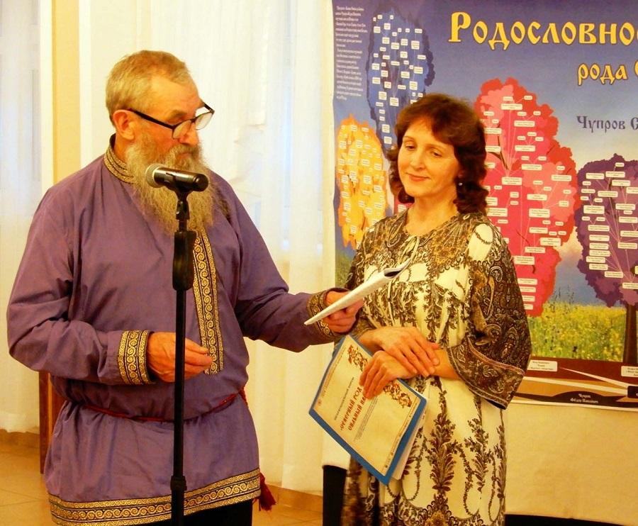 Настоятель Нарьян-марской старообрядческой поморской общины о. Александр Ляпунов на встрече староверческих родов