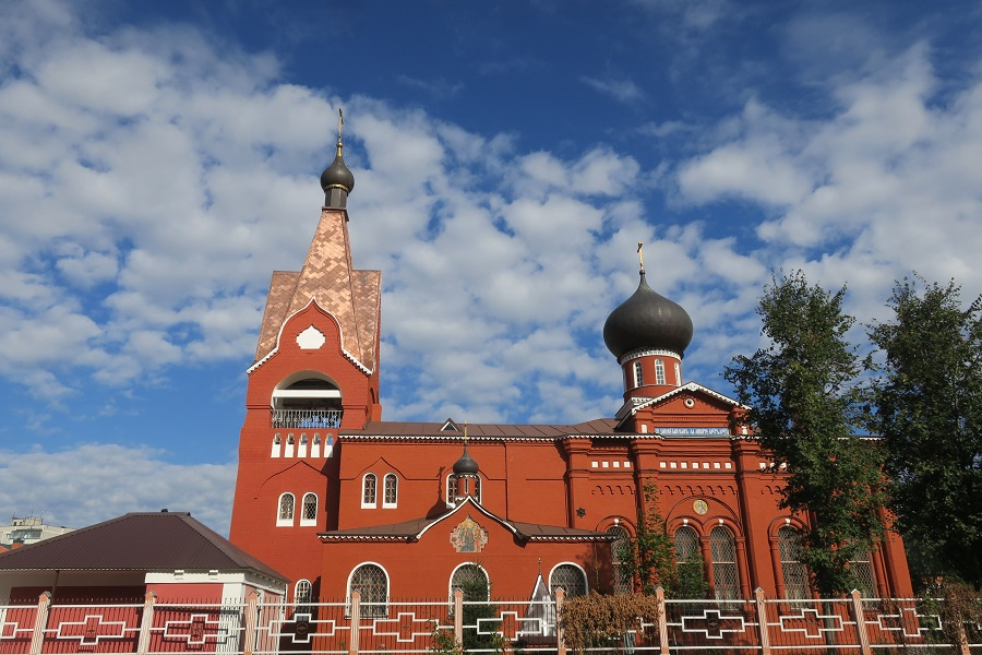 Восстановленный старообрядческий храм во имя Рождества Пресвятой Богородицы на улице Кузнецкой в г. Орехово-Зуево. Фото Татьяны Алексеевой