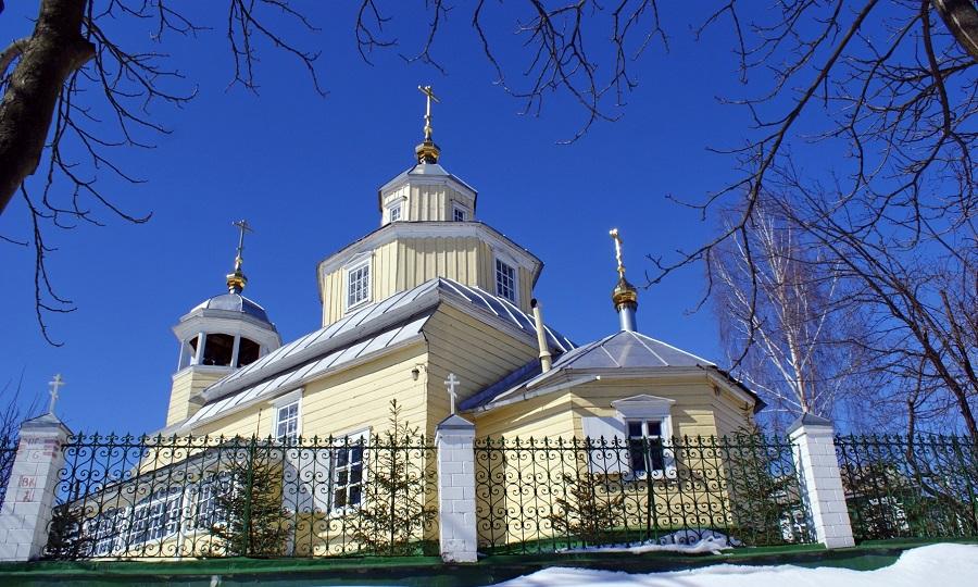 �льинская церковь в г. Гомеле. Современный вид (со стороны �льинского спуска)
