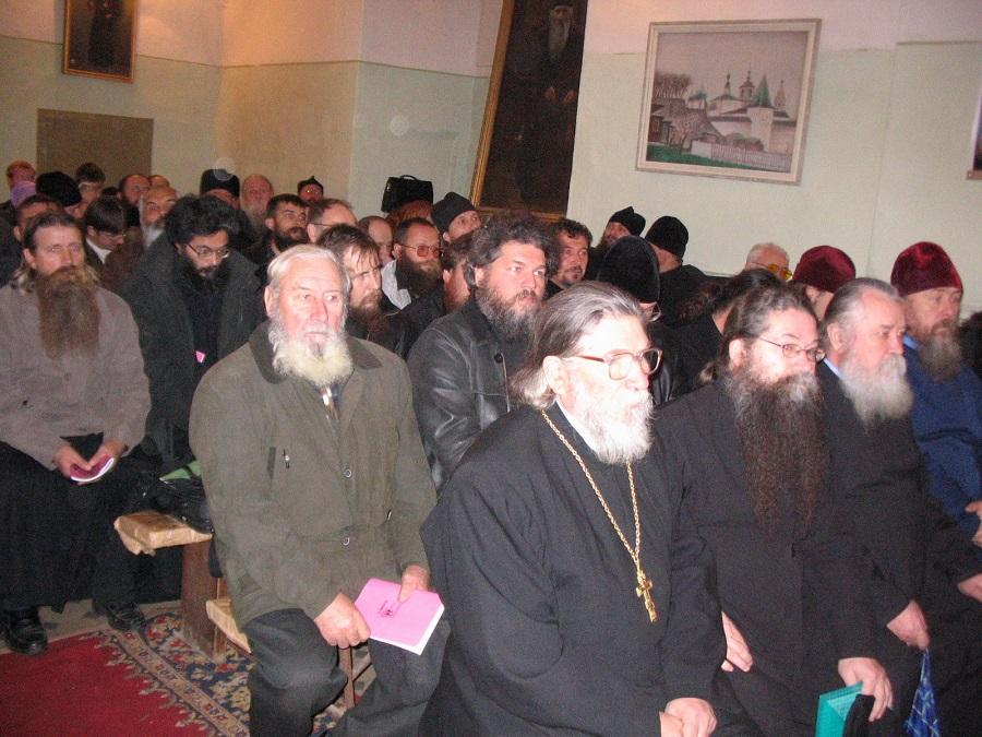 Виктор Смольников на Освященном Соборе РПсЦ 16-19 октября 2007 года