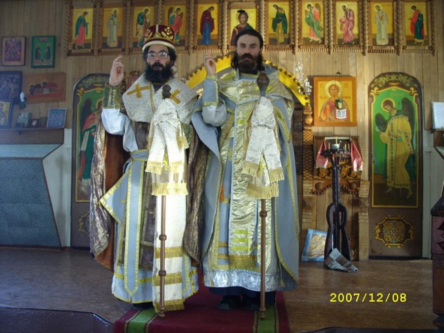 8 декабря 2007 г. Епископ Герман (Савельев) и епископ Внифантий (Смольников)