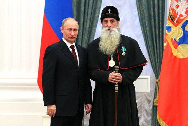 С президентом В.В. Путиным