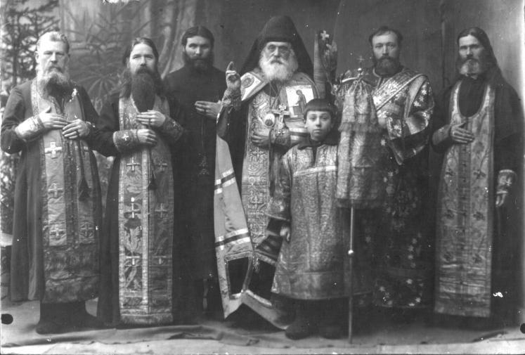 Архиепископ Никола (Позднев) и древлеправославные клирики, 1924 год