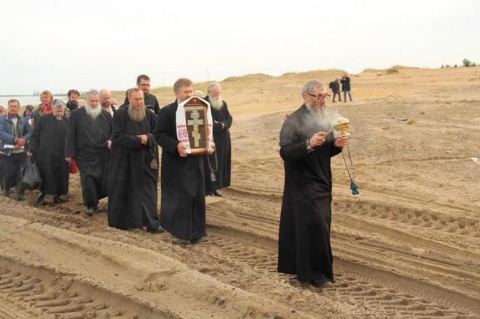 Пустозерский крестный ход в память 330-летия мученической гибели протопопа Аввакума и его соузников