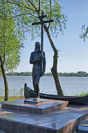 Памятник старообрядцам — основателям Вилково