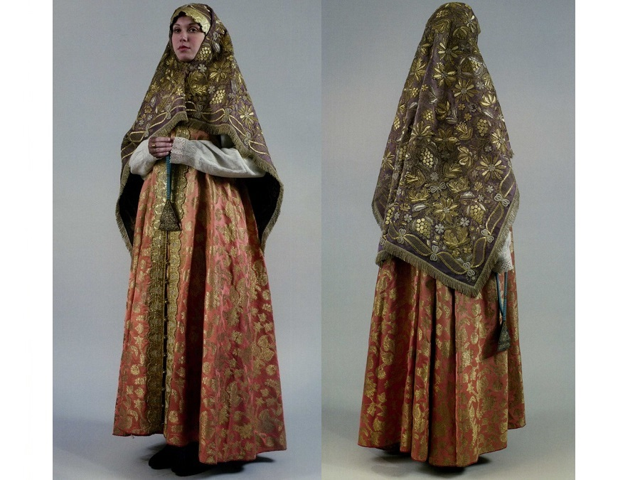 Женский старообрядческий костюм. Нижегородская губерния
