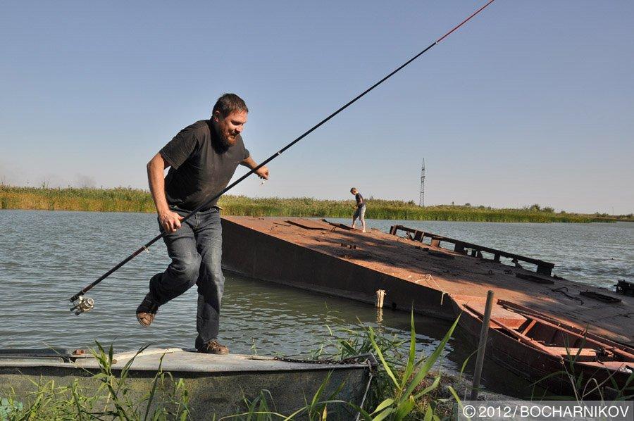 Зимняя рыбалка на Маныче — уловистые места и рыба