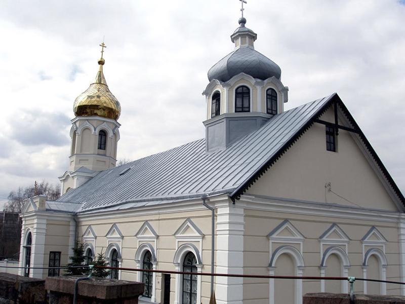 Храм Покрова Пресвятой Богородицы (ДПЦ). Вильнюс