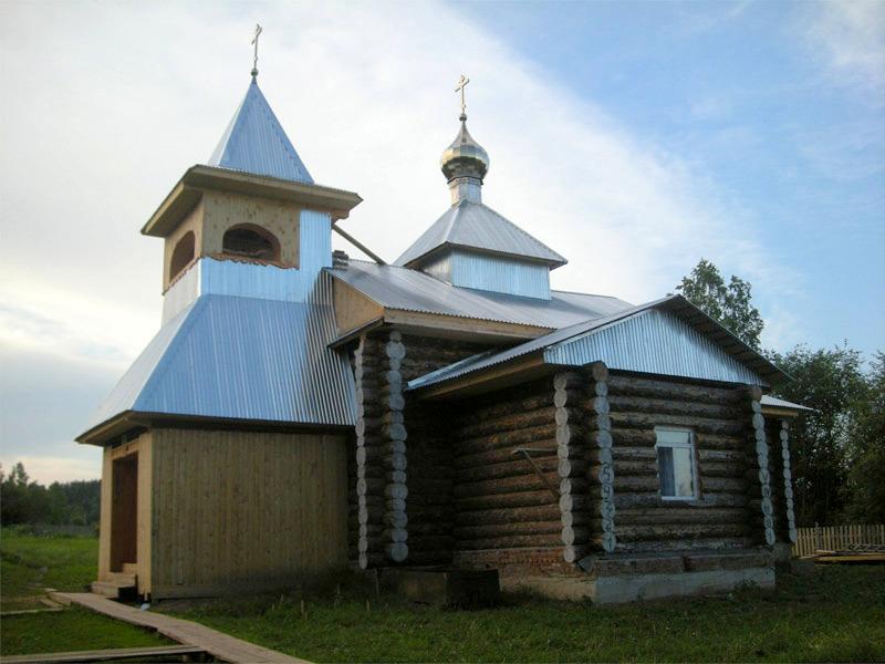 Ильинский храм в с. Тойкино Пермской области