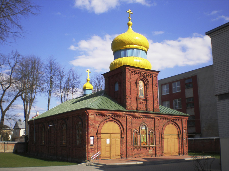 Храм святителя Николы Чудотворца. Каунас