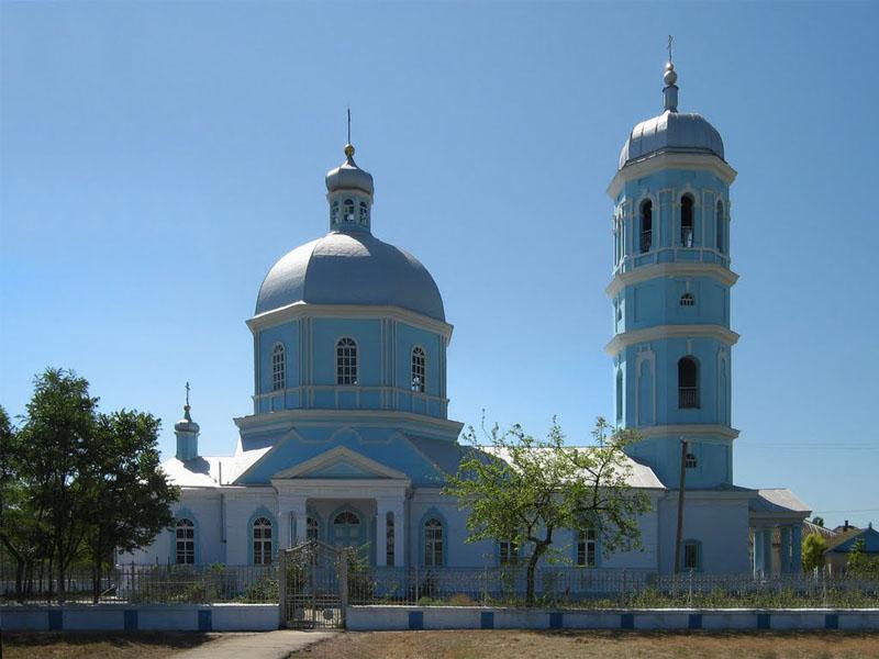 Храм Казанской Пресвятой Богородицы. Приморское (Одесская область)