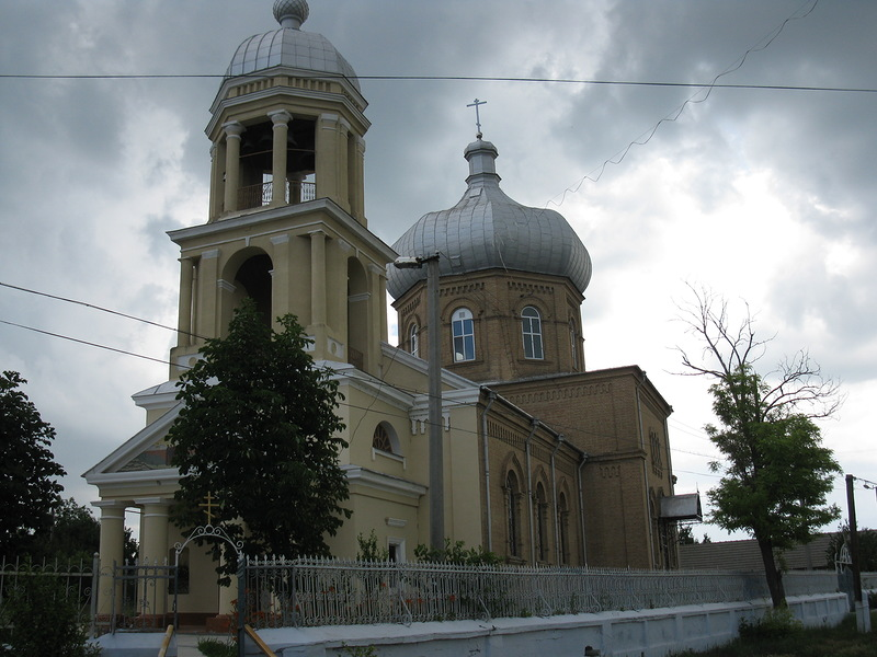Храм апостола Иоанна Богослова. Старая Некрасовка