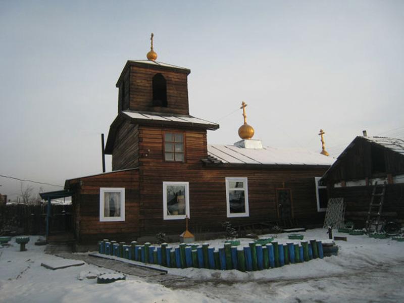 Старообрядческий храм (РПсЦ) во имя великомученика Георгия в г. Кызыле