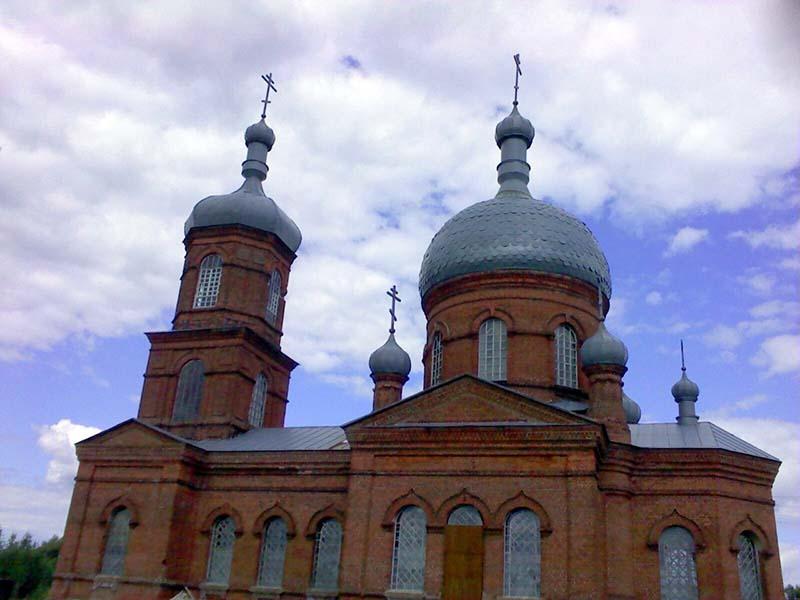 Храм Знамения Пресвятой Богородицы. Чуровичи