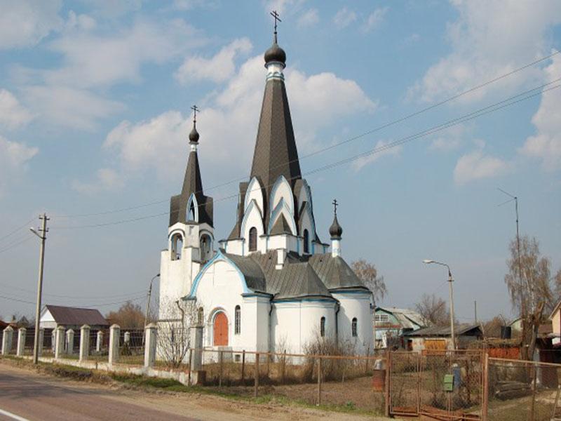 Старообрядческий храм (РДЦ) во имя великомученика Георгия в с. Новохаритоново
