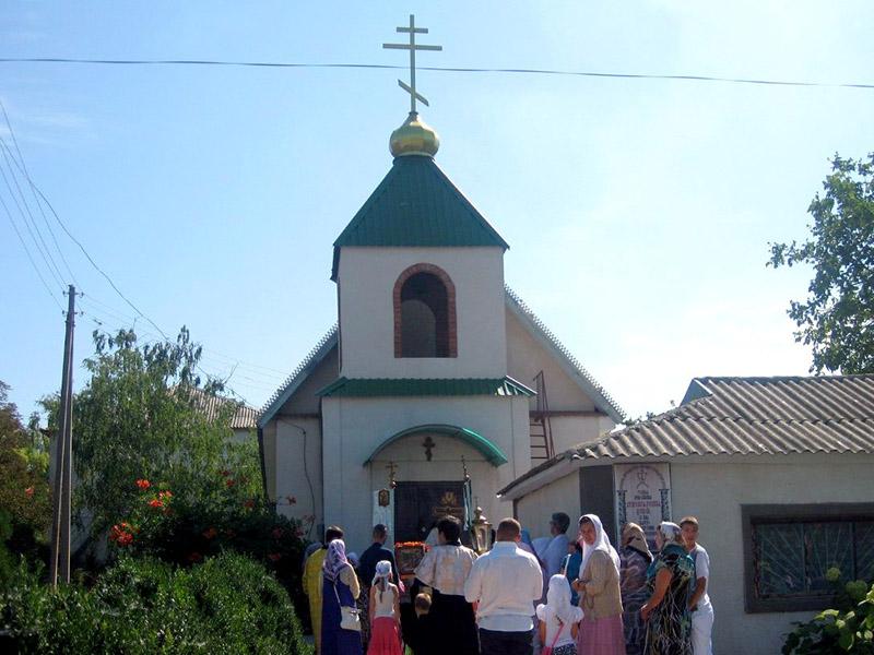 Старообрядческий храм (РПсЦ) во имя великомученика Георгия в с. Бычок