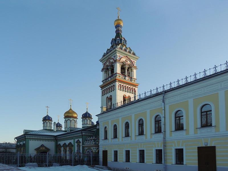 Бывший старообрядческий храм во имя святителя Николы Чудотворца на Рогожском кладбище