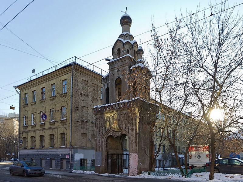 Колокольня старообрядческого храма святой Екатерины. Москва