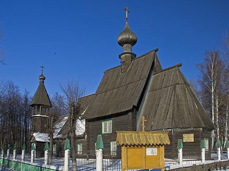 Храм Успения Пресвятой Богородицы в г. Иваново. Сгорел 18 ноября 2015 года