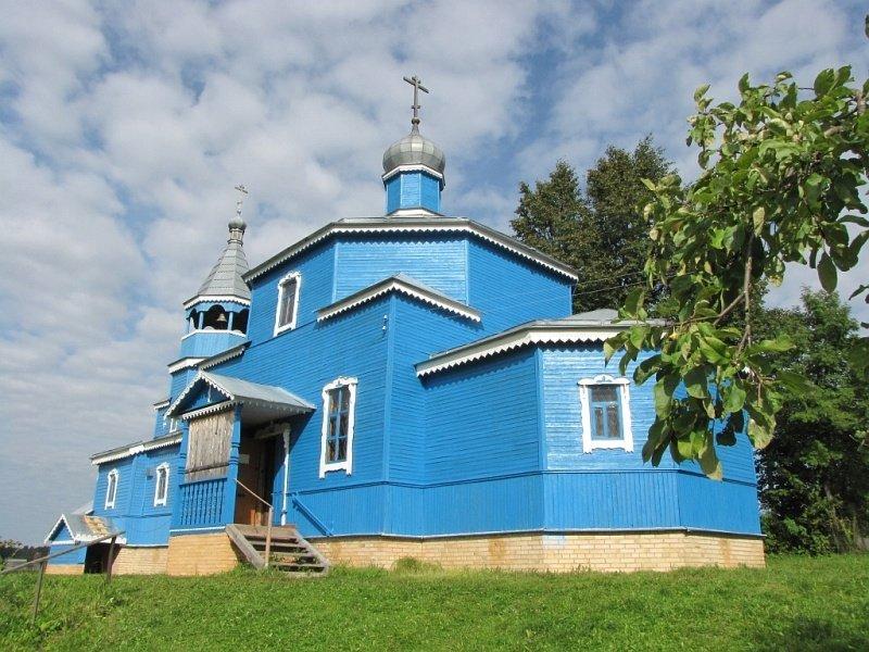Церковь во имя преподобного Сергия Радонежского Чудотворца в городе Сычевке Смоленской области