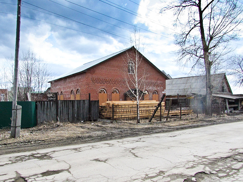Храм Воздвижения Честного Креста Господня (часовенных) в г. Ревде