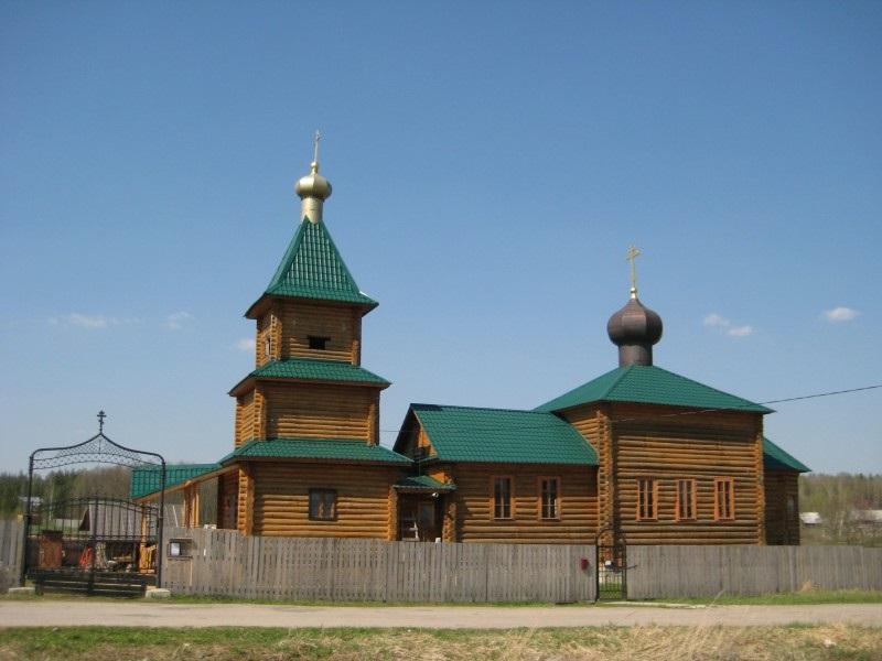 Ильинский храм (РПсЦ) в д. Елкино