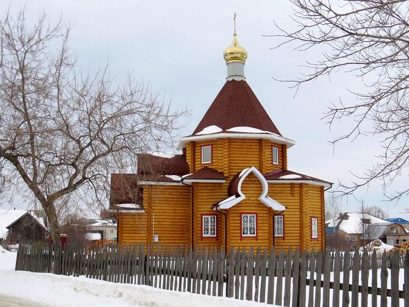 Храм Владимирской иконы Пресвятой Богородицы в пос. Тонкино Нижегородской области