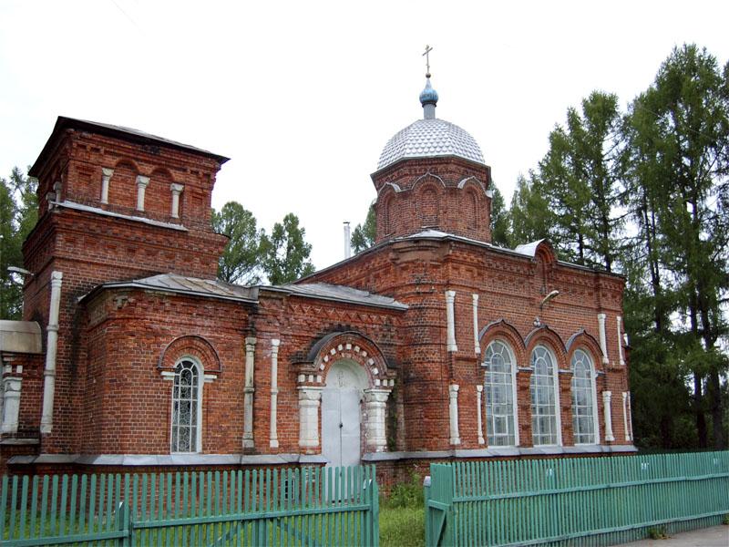 Храм РПСЦ  святителя Николы Чудотворца. Чернопенье