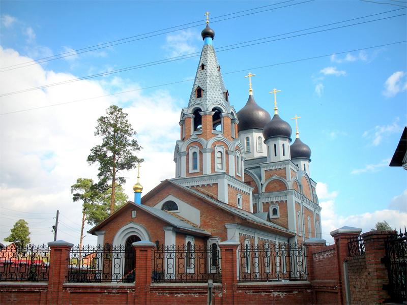Собор Рождества Пресвятой Богородицы РПСЦ. Новосибирск