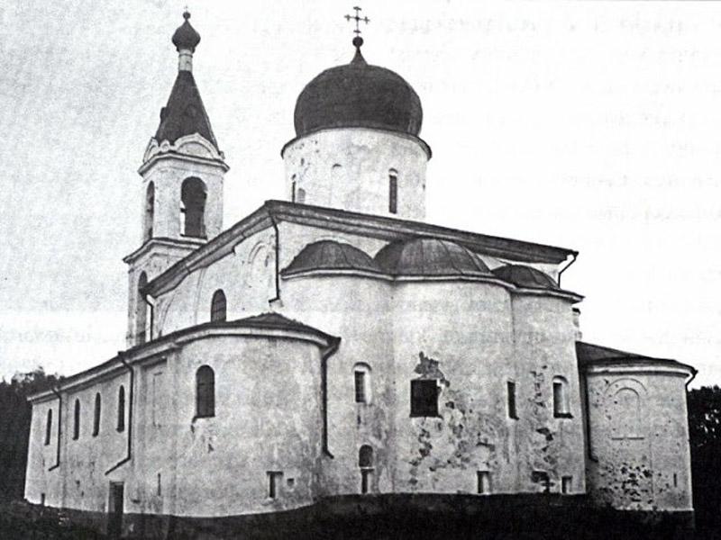 Храм Илии на Славне. Старинная фотография