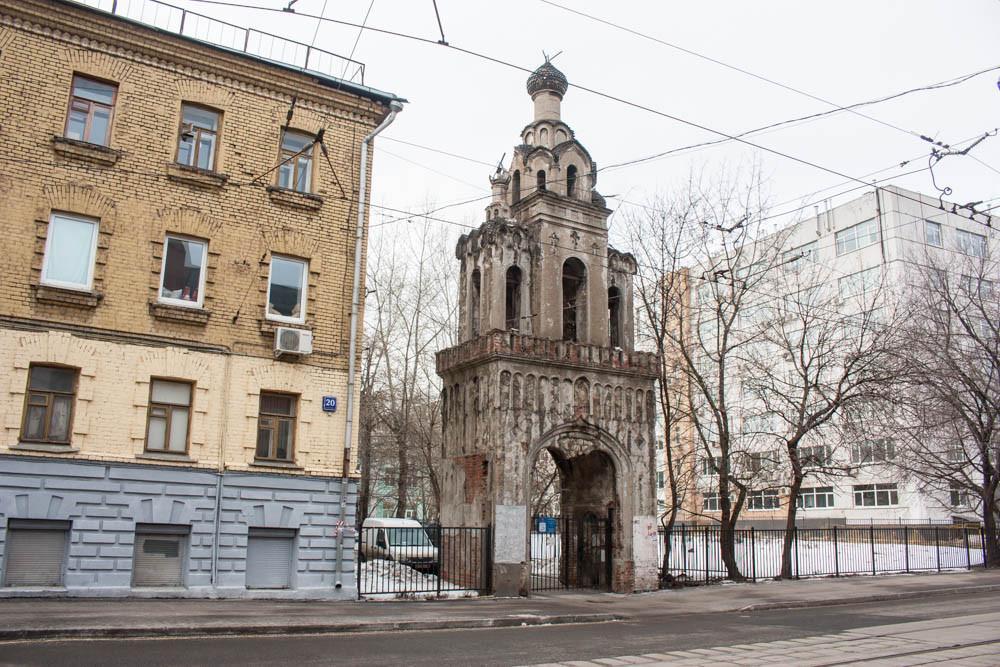 В Москве начнут реставрацию старообрядческой колокольни на Бауманской