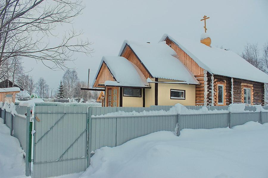 ВПечоре завершается строительство старообрядческого молельного дома