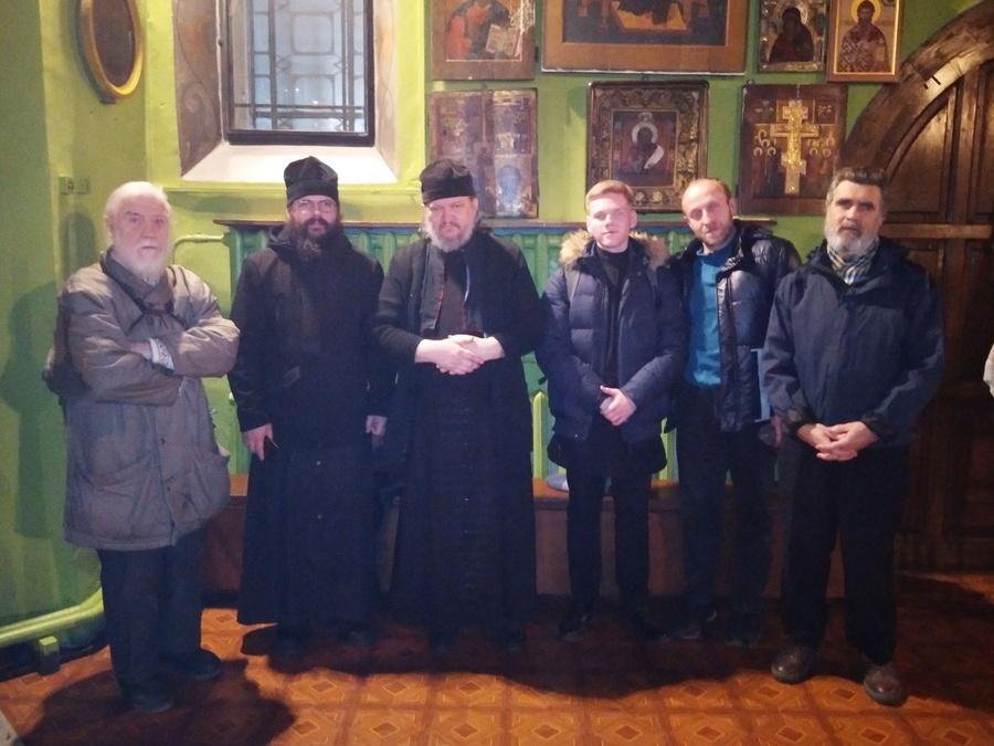 Вкафедральном соборе Русской Древлеправославной Церкви