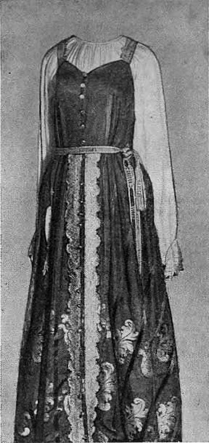 История костюма русского населения уральских заводов в XIX веке