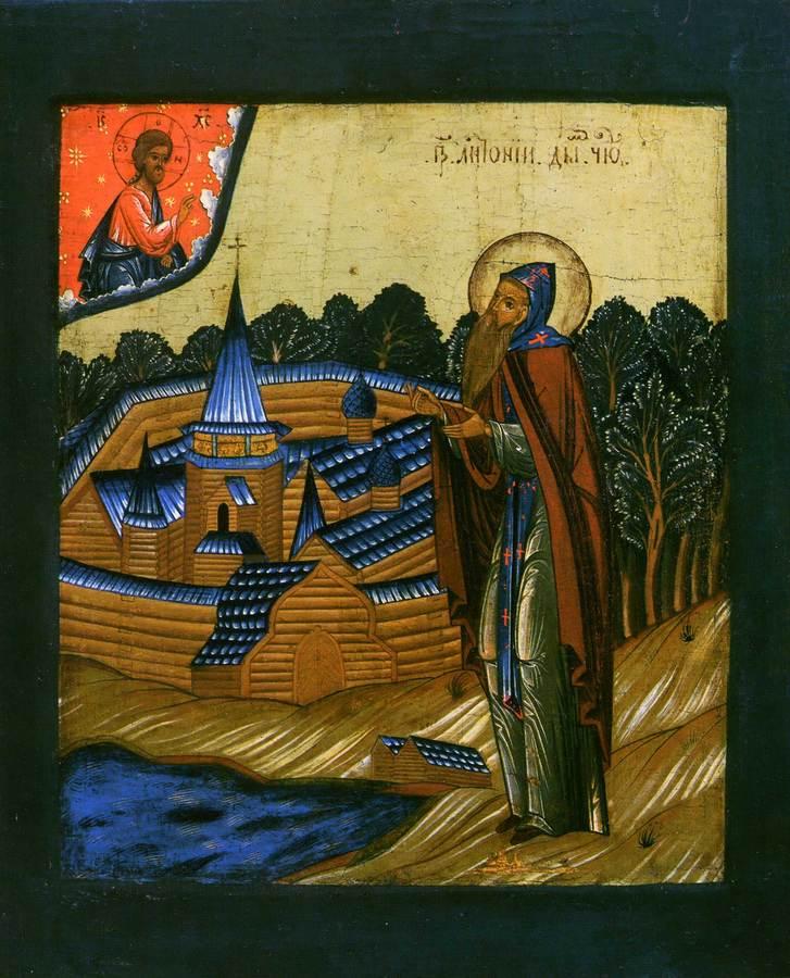 Преподобный Антоний Дымский