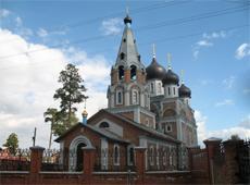 Собор Рождества Пресвятой Богородицы. Новосибирск