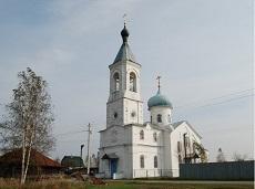Храм святителя Николы Чудотворца. Устьяново