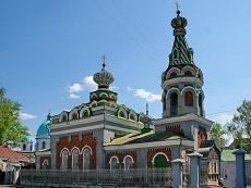 Храм Успения Пресвятыя Богородицы. Моршанск