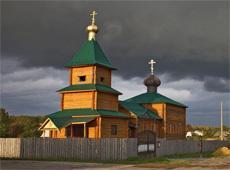 Храм святого пророка Илии Фезвитянина. Елкино