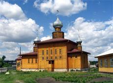 Храм святителя Николы Чудотворца. Залесово