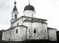 Храм святого пророка Илии на Славне. Великий Новгород