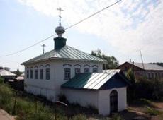 Храм Успения Пресвятой Богородицы. Очер