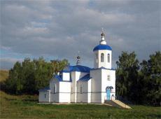 Храм Пресвятой Богородицы Тихвинской. Соболевское