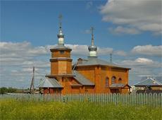 Храм Владимирской иконы Пресвятой Богородицы. Арья