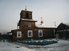 Храм великомученика Георгия Победоносца. Кызыл