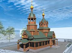 Храм Рождества Пресвятой Богородицы. Нижний Новгород