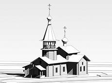 Храм во имя мучеников и исповедников Соловецких. Людиново