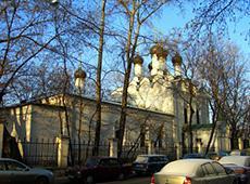 Храм святителя Николы Чудотворца в Студенцах. Москва